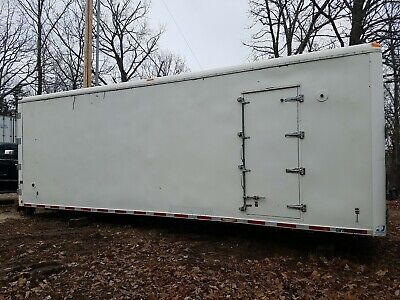 Johnson Industries 25 White Aluminum Insulated Truck Body-storage Container