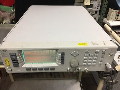 Wiltron Anritsu 69147a - 0.01 - 20 Ghz Synthesized Sweep Analyzer Opt. 2a 11