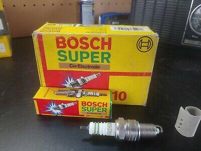 Bosch Super 7509 Spark Plugs W8LCR new Box of 10 1987-1993 BMW 325, 525, 735