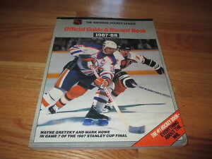 Official-GUIDE-RECORD-Book-1987-88-WAYNE-GRETZKY-OILERS-Champs-MARK-HOWE