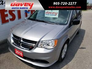 2016 Dodge Grand Caravan SE/SXT LIKE NEW CONDITION!