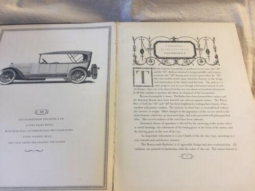 The Locomobile Book 1915, Antiquarian Collectible Automobile Catalogue Hardbound