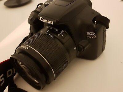 Canon EOS 1100D 12.2MP Digital SLR Camera - Black (Kit w/ EF-S IS II 18-55mm Le…