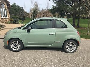 2012 fiat 500 Lounge loaded and  manual