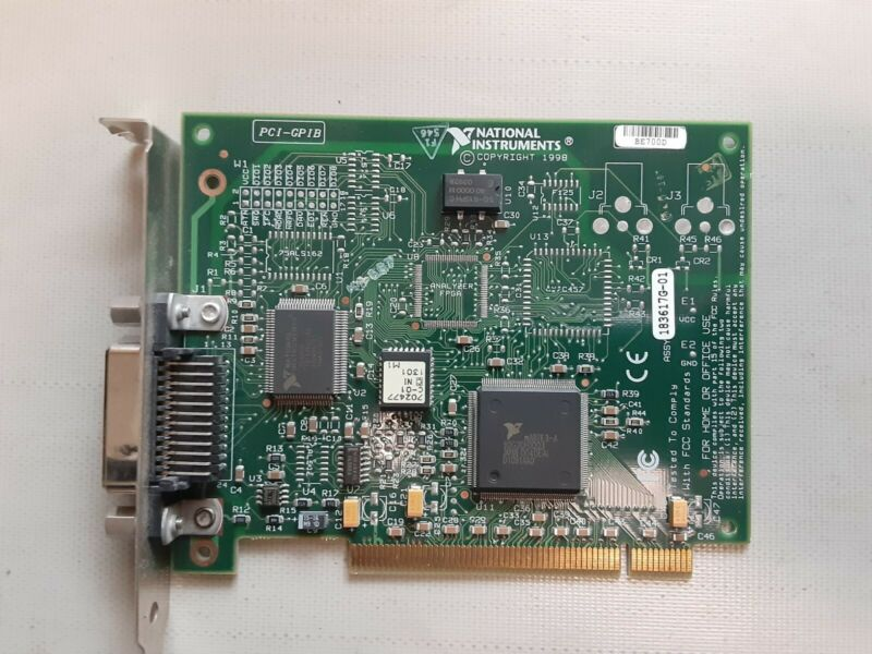 National Instruments PCI-GPIB Card 183617G-01