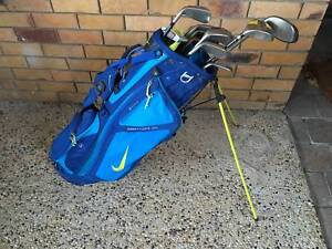 Golf Clubs in Bag with Callaway Travel Case