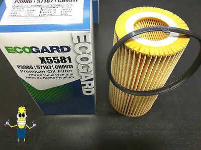 Premium Oil Filter for Volvo C70 with 2.5L Engine 2006-2013 Single