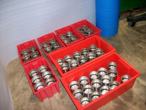 RICE LAKE 4KG STAINLESS CALIBRATION HANGING WEIGHTS IN POLAR WEAR CUPS
