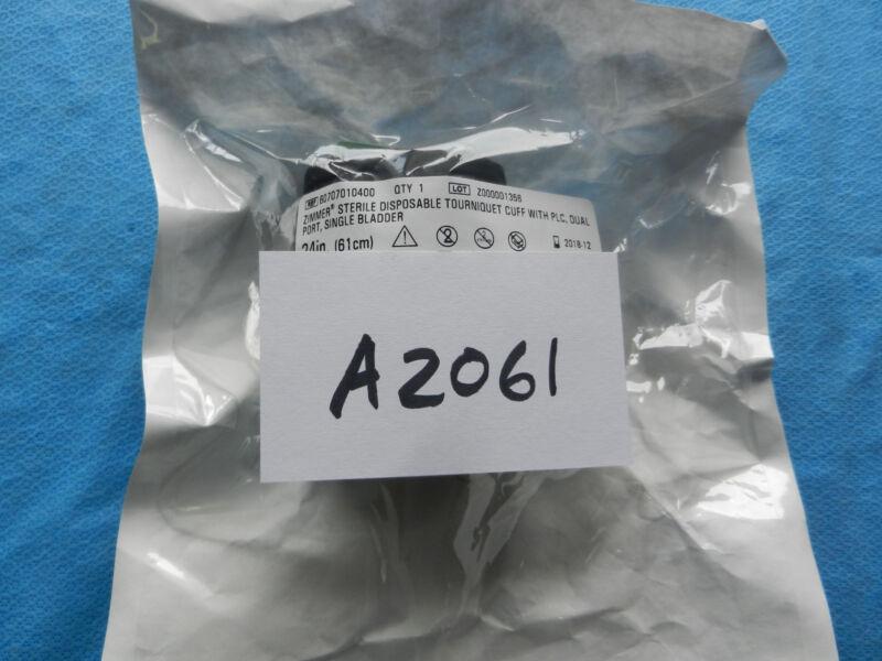 Zimmer Disposable Tourniquet Cuff W/PLC Dual Port Single Bladder 60707010400