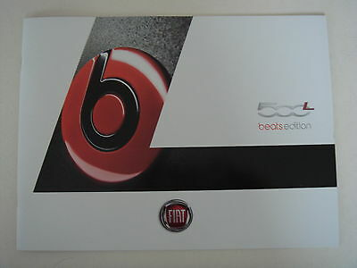 Fiat . 500 . Fiat 500 L Beats Edition . May 2014 Sales Brochure