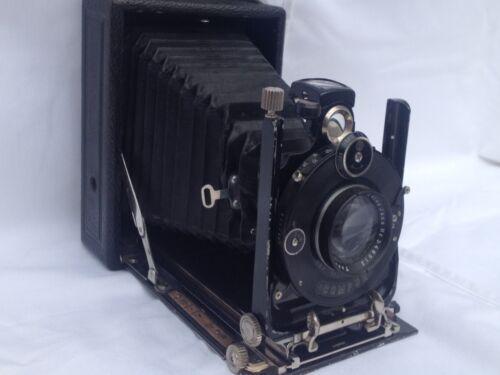 "vintage ""Compur"" folding camera by F. Deckel w. Carl Zeiss lens"