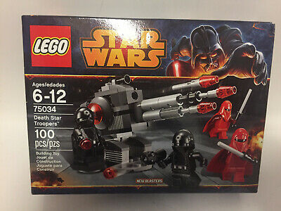 LEGO 75034 DEATH STAR TROOPERS 100 PCS 6-12