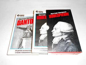 DANTON ROBESPIERRE Norman Hampson 2 volumi con custodia Bompiani 1989 - Italia - L'oggetto può essere restituito - Italia