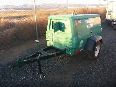 2003 Ingersoll-rand P185wir Portable Air Compressor 185 Cfm Ir 2731
