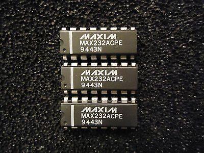 5pc Max232acpe Maxim Dip 16