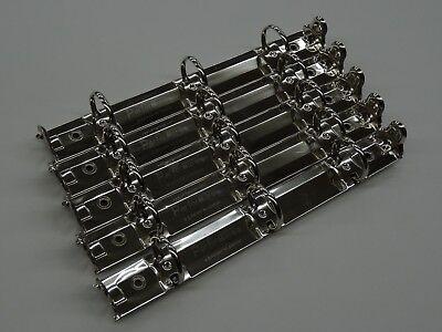 Miniring Binder Mechanism 8 12 X 5 12 For 8.5 X 5.5 Paper Silver Pk. Of5