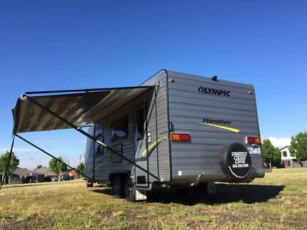 Family bunk 2015 Olympic Marathon full annex caravan