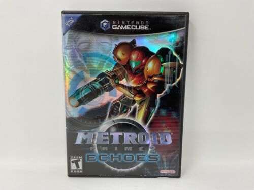 Metroid Prime 2 Echoes Nintendo GameCube Case NO GAME