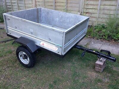 ERDE Car Trailer, box trailer, good condition, collection SUSSEX