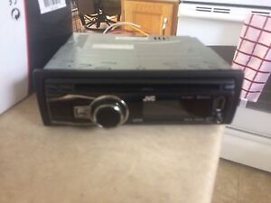 JVC deck and 4 brand new speakers 310w