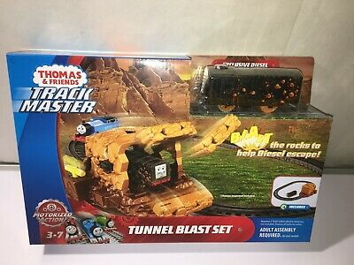 Thomas & Friends Trackmaster Tunnel Blast Set - NEW Sealed EXCLUSIVE DIESEL