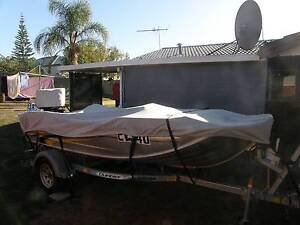 """Clearwater Kingfisher 3.89 M (12'10"""") Tinnie and Dunbier Trailer Collie Collie Area Preview"""