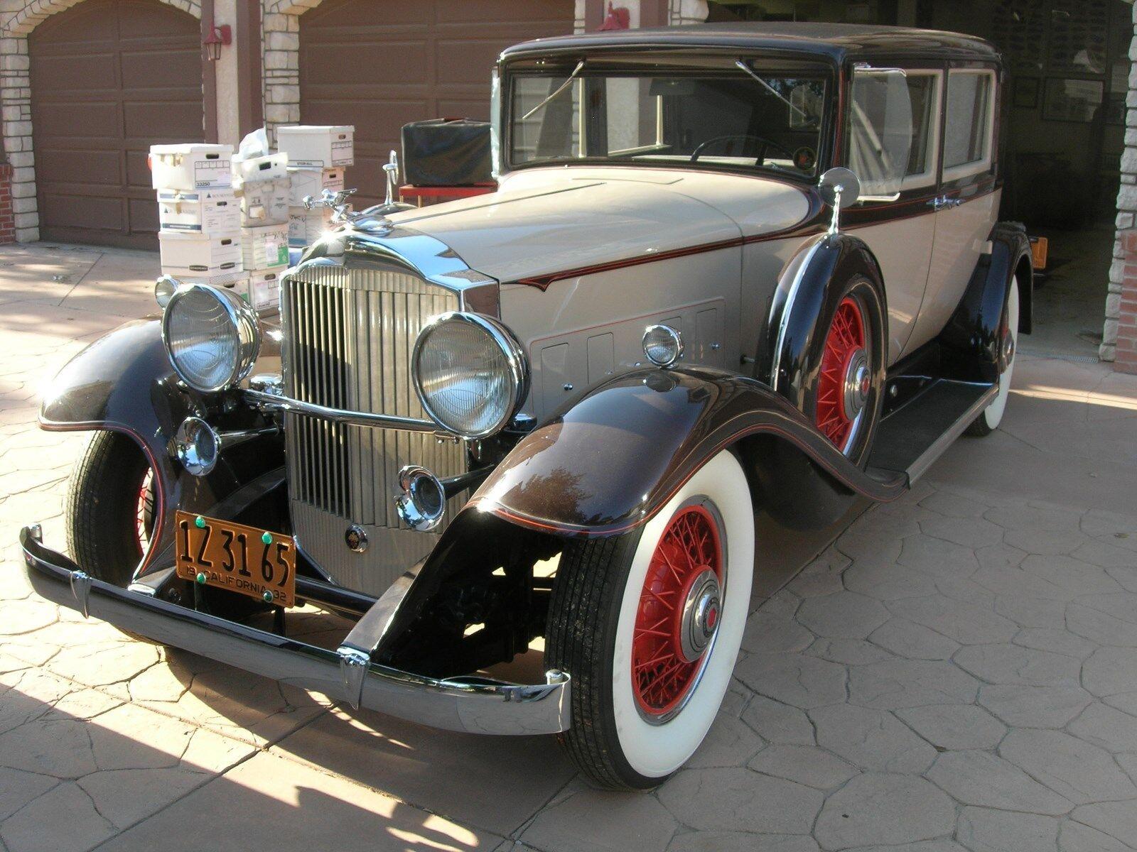 1932 Packard Standard Eight Sedan 1932 Packard Standard Eight Club Sedan