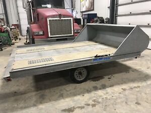Hyland double snowmobile trailer