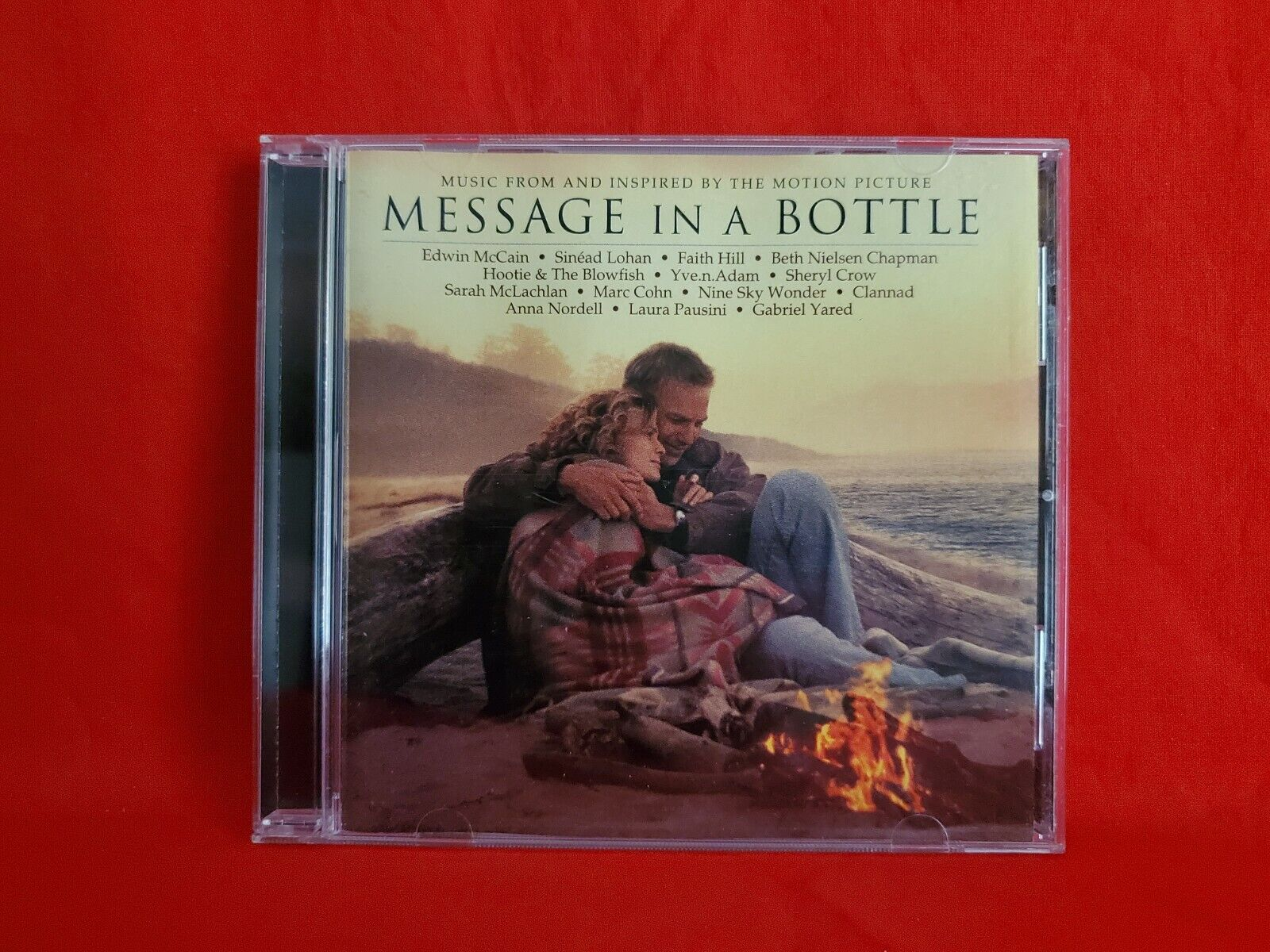 Message In A Bottle 1999 Atlantic Soundtrack CD Gabriel Yared, Various Artists - $1.97