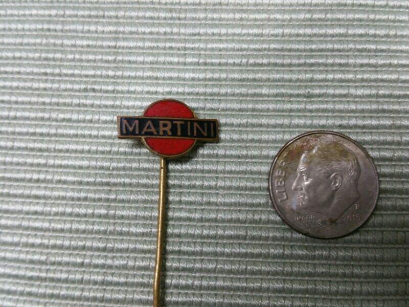 Vintage MARTINI & ROSSI Vermouth Logo Vintage Enamel Pin/Badge*