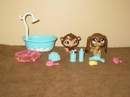 Littlest Pet Shop Themed Playpack - Squeaky Clean Pets Gwelup Stirling Area Preview