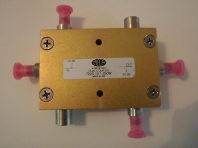 Meca 722s-10-1.650w Dual Directional Coupler 100w 0.8-2.5ghz New Unused