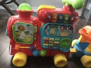 Sit  to Stand Ultimate Alphabet Train™ by VTech®!