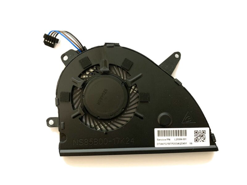 GENUINE HP 15-CS CPU FAN L25584-001 L25588-001 (Pulled out from New Machine)