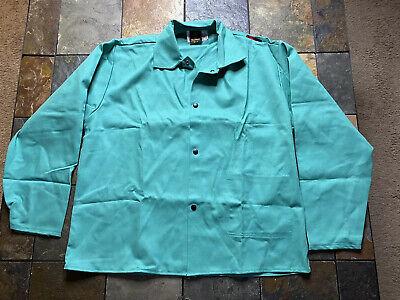 Tillman Green Welding Shirt Jacket Westex Fr-7a Mens Size Xl