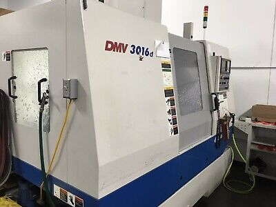 2004 Daewoo Mill 3016d Cnc Mill New Spindle Only 500hrs Fanuc