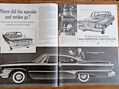 1960 Chrysler Valiant Plymouth Dodge Dart Ad