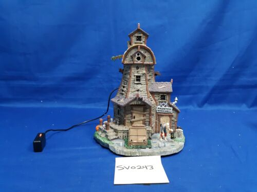 Lemax Spooky Town Haunted Windmill #85667 As-Is SV0243