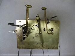 USED HERMLE/RIDGEWAY GRANDFATHER CLOCK MOVEMENT #1161-853HS/ 94 cm
