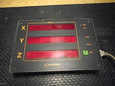 Mitutoyo Cmm 3 Axis Display Control Unit Model Rd-l1