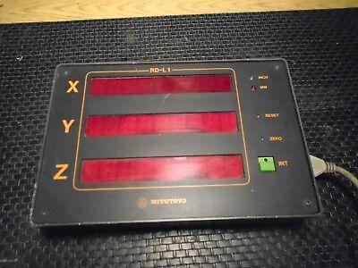 Mitutoyo Cmm 3 Axis Display Control Unit Model Rd-l1