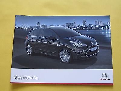Citroen C3 2009 Brochure