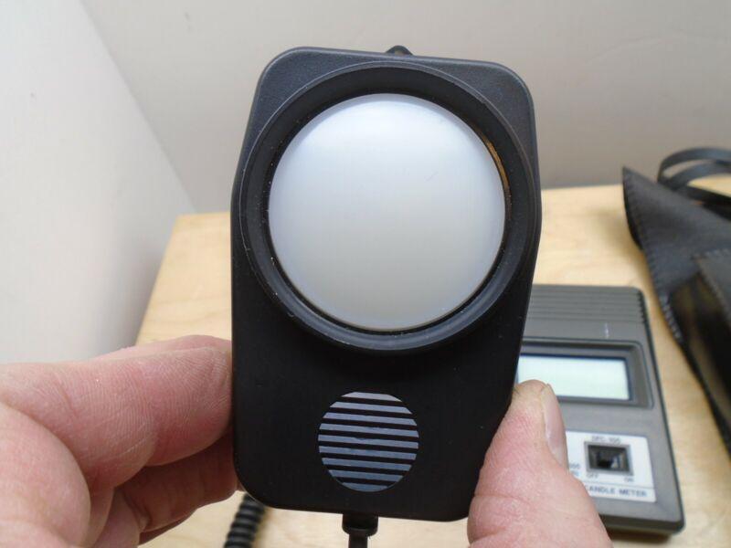 Digital Foot Candle Meter DFC-100 Lux 3 Range Light Meter