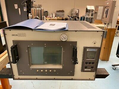 Delta Design Environmental Chamber Oven Dd 9039 120vac Warranty Ln2 Lco2 Cooling