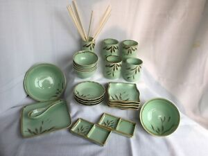 NEW 23 piece Asian Dinnerware Set