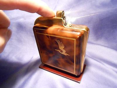 "RAR ! "" THORENS "" Switzerland 1952 Benzin-Tischfeuerzeug Petrol Table Lighter"
