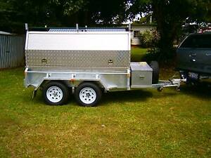Tandem Axle Tradies Trailer with 600 litre diesel & water pods Tolga Tablelands Preview