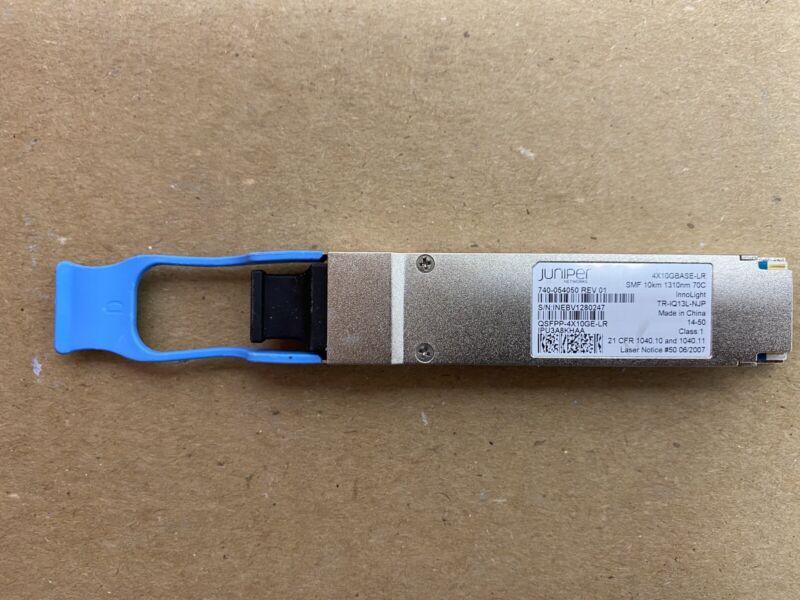 Juniper QSFPP-4X10GE-LR 4x10GBASE-LR QSFP+ 1310nm 10km 740-054050