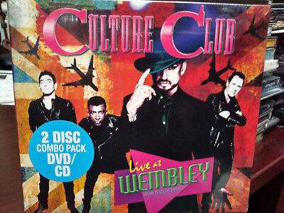 Culture Club Live At Wembley 2016 Cd Dvd Boy George Church Of The Poison Mind