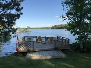 Big and Private Waterfront Cottage for Rent at Nipissing Lake